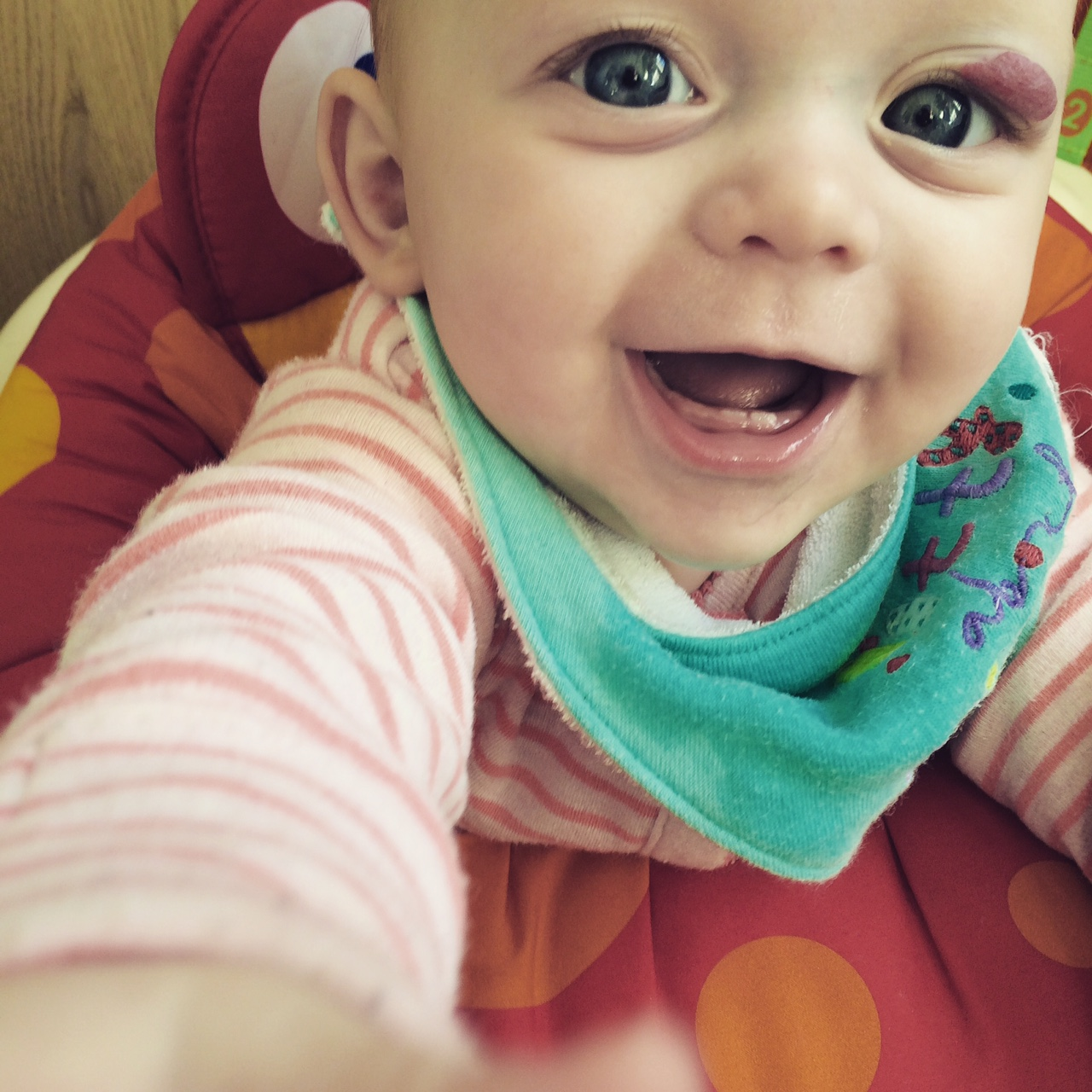 The jumperoo happiness