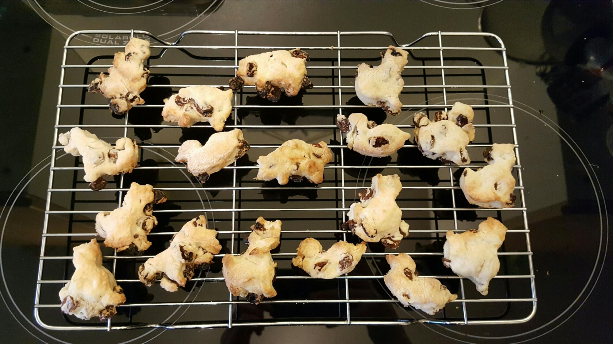 Oven baked healthy scones!