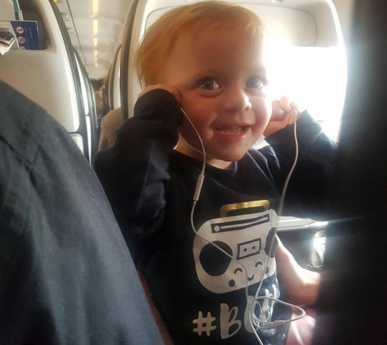 Plenty of distractions on the flight