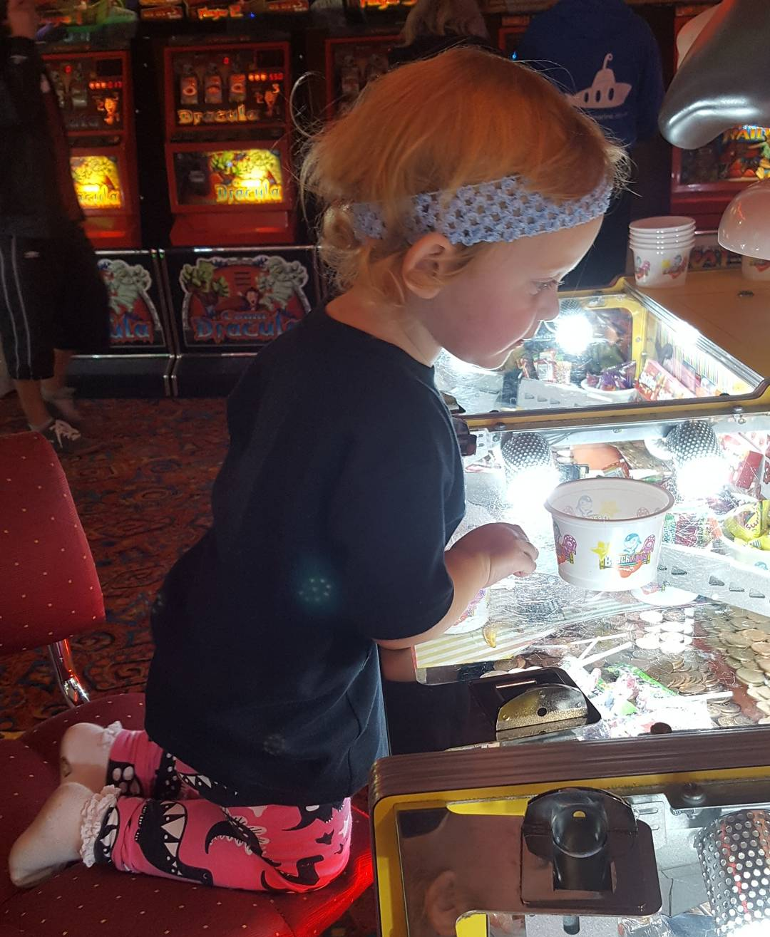 Everyone loves the arcades!