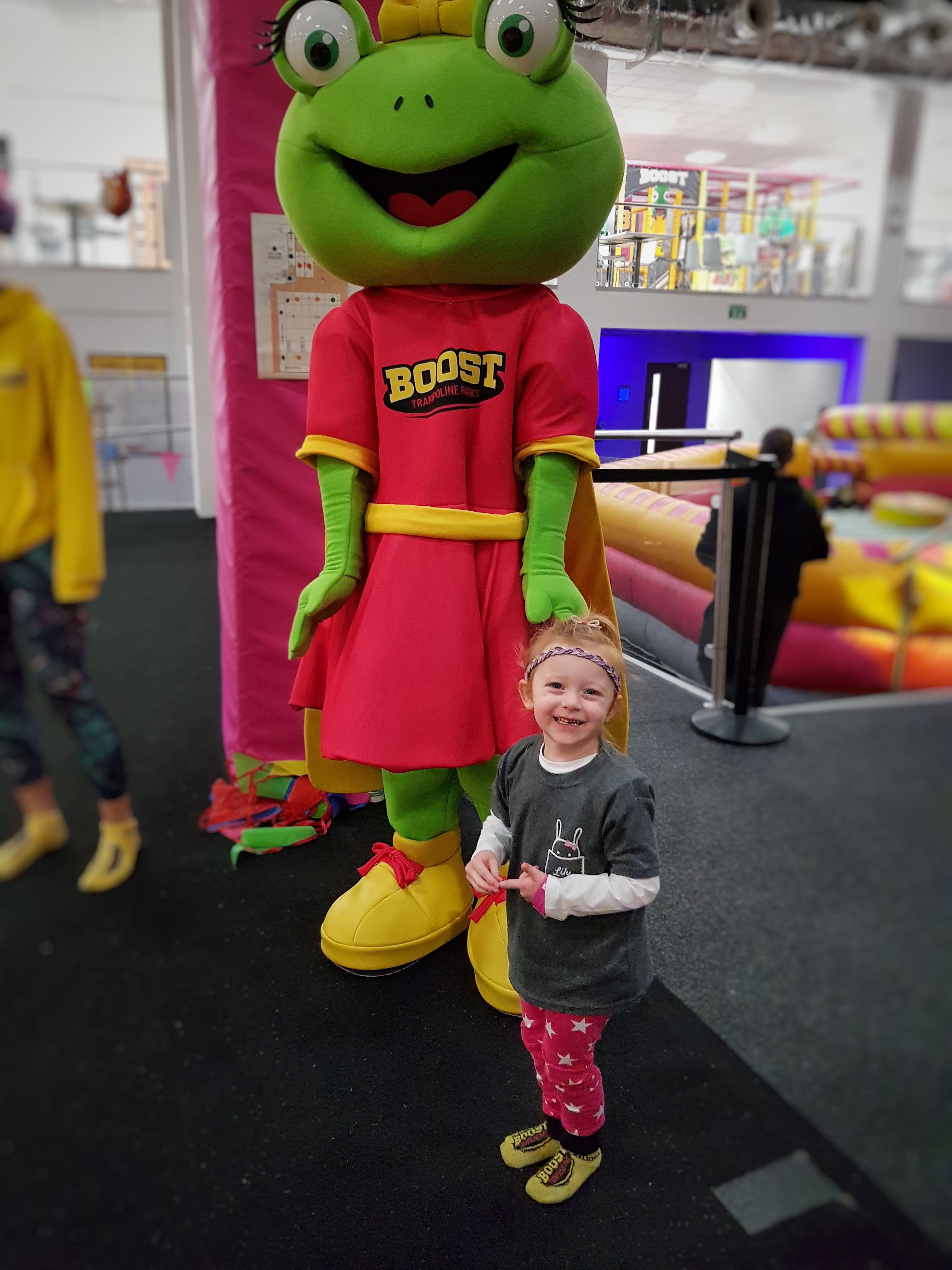 Lily met Lily frog!