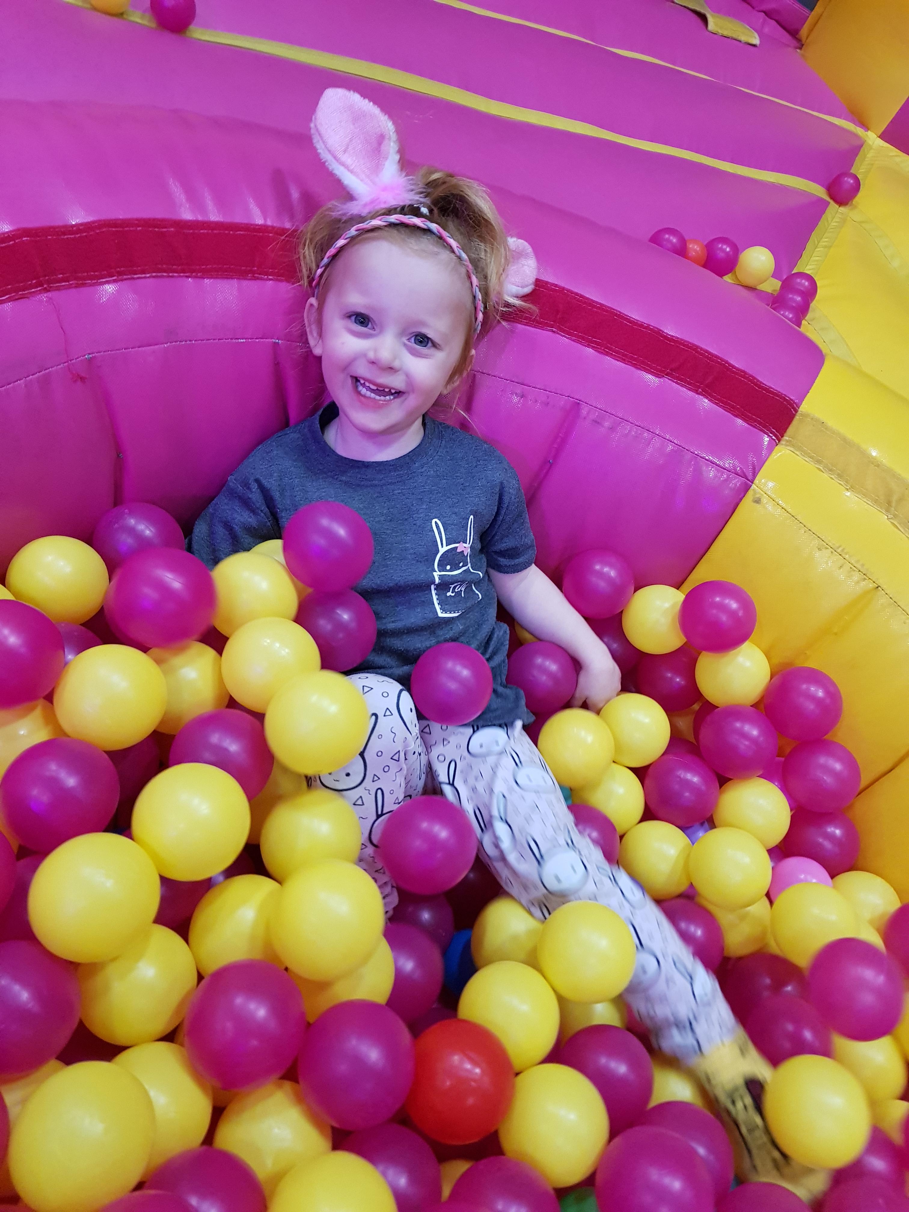 Ballpit fun