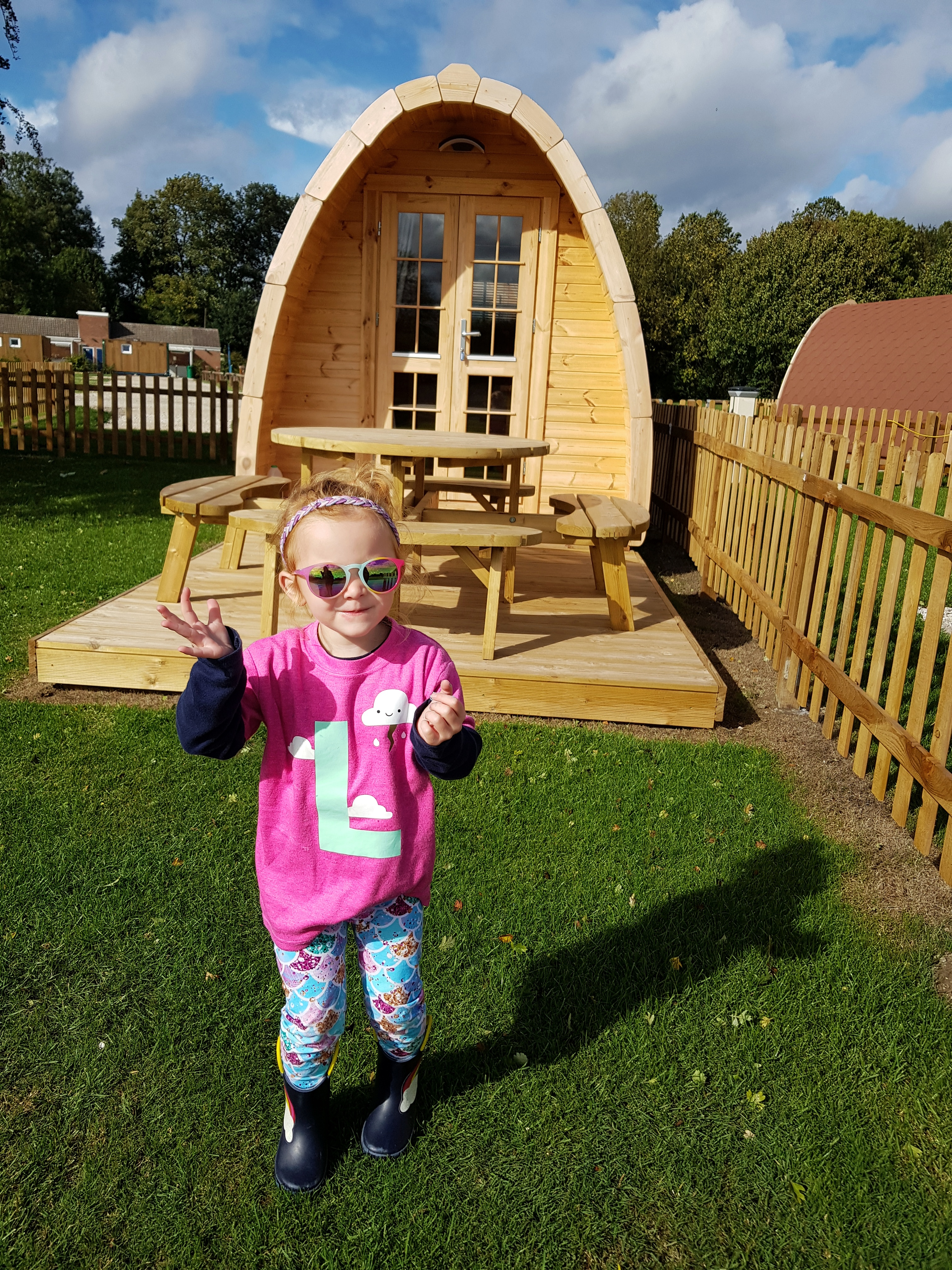 Deluxe camping pods at Nottingham Water Sports Centre