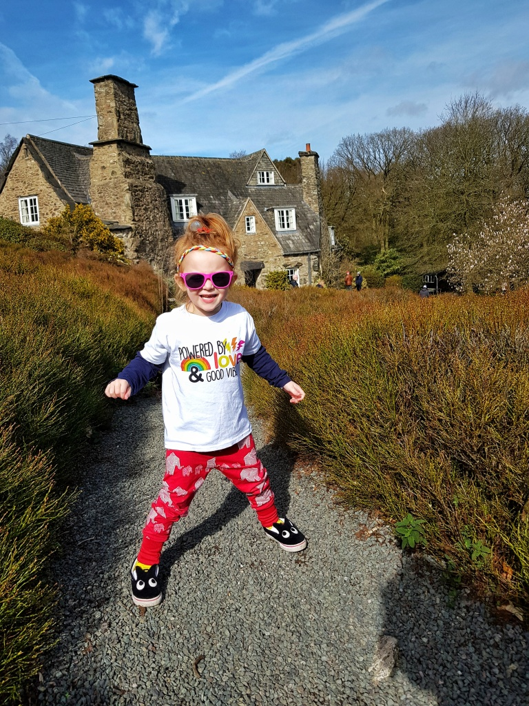 We love exploring Stoneywell National Trust