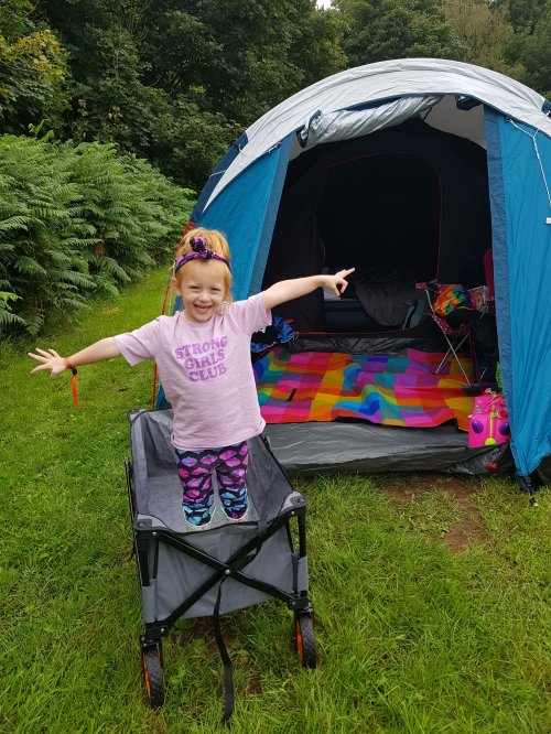 She already wants to go to a camping festival again. Anyone have any family-friendly suggestions?