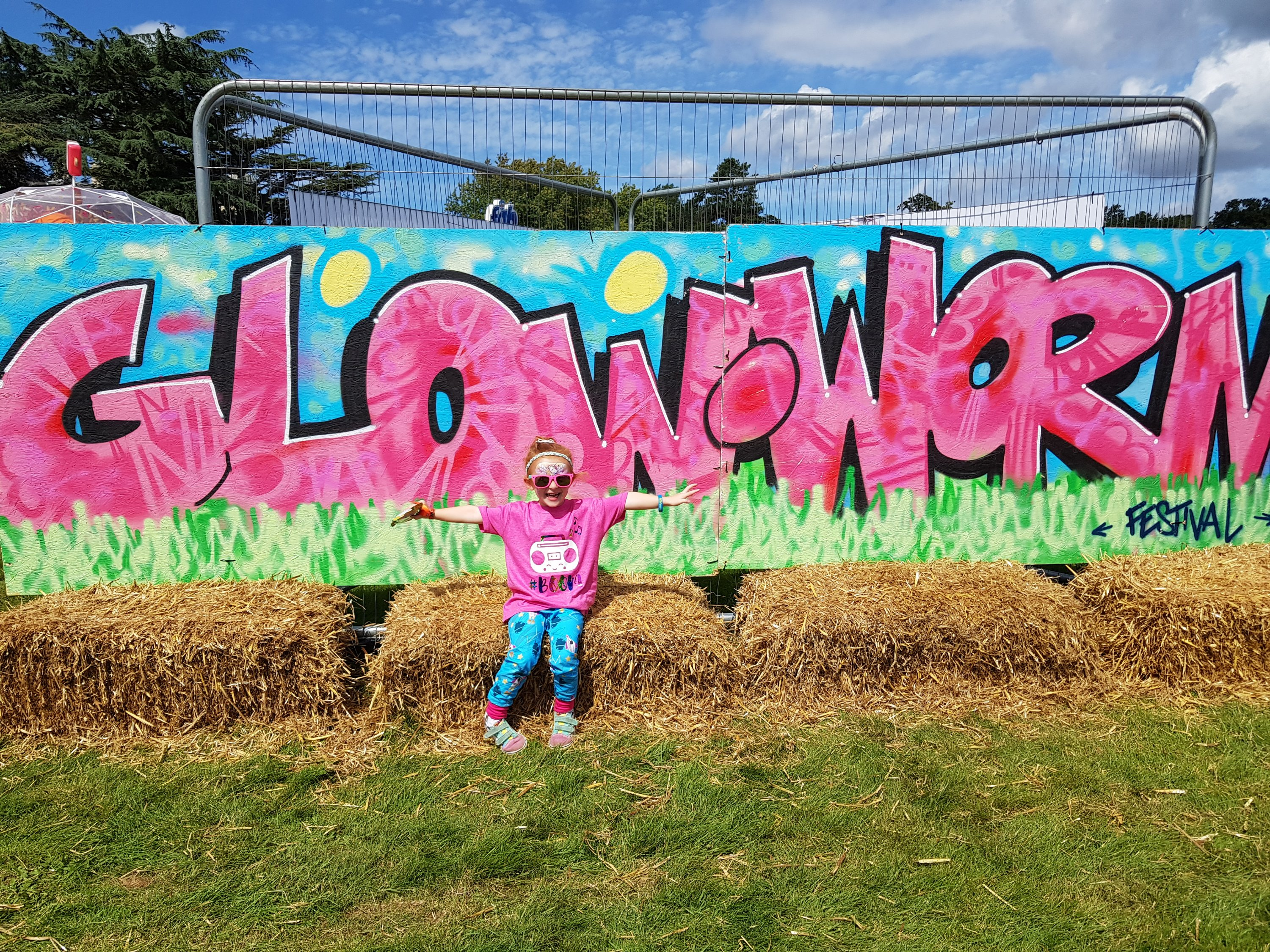 Outfit goals... when you match the Gloworm festival sign!