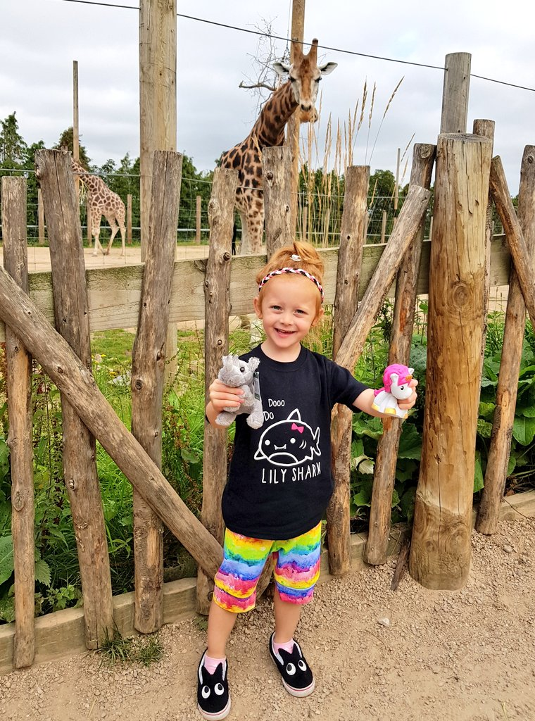 Enjoying a day out at Twycross Zoo