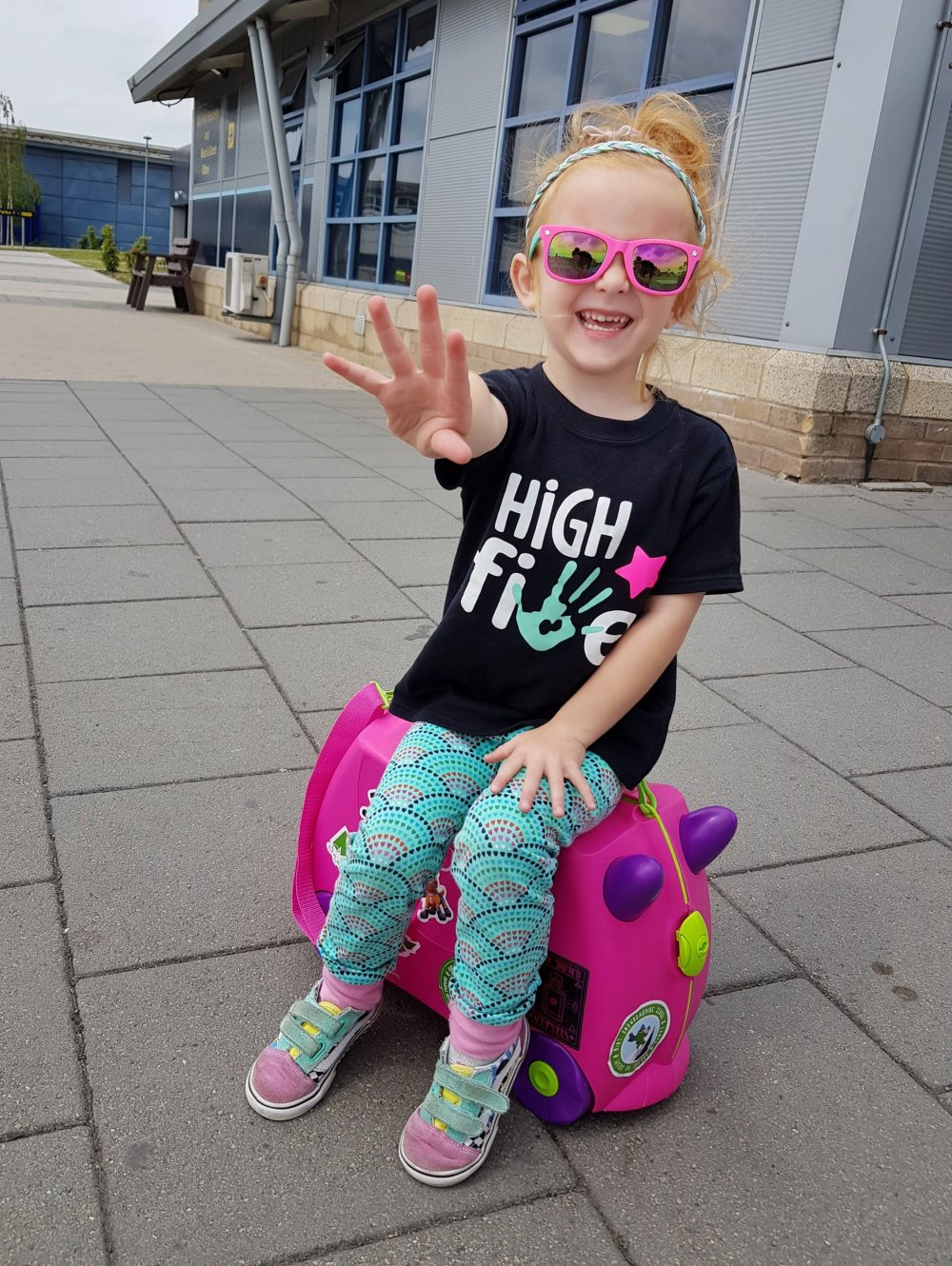 High 5 for the Trunki