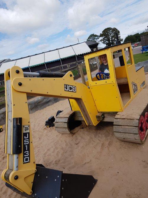 The JCB digger sandpit