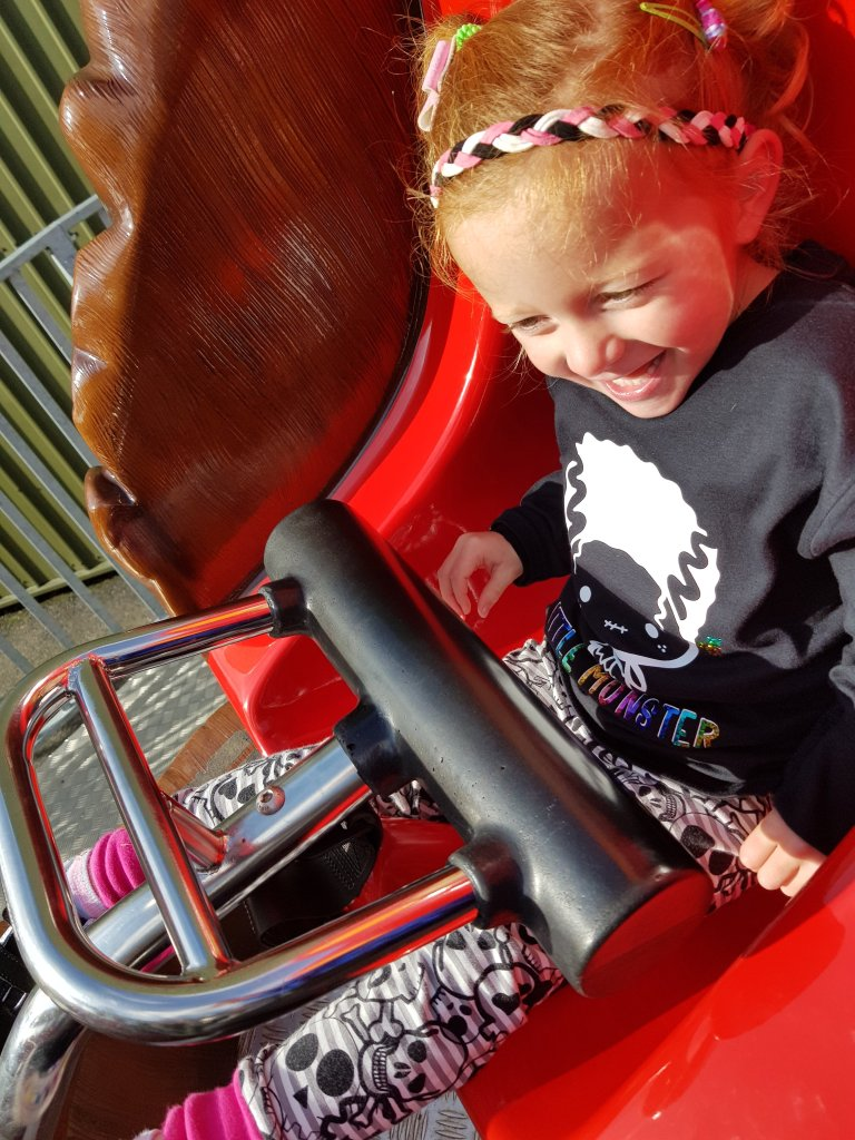 Rollercoaster fun at Twin Lakes Theme Park
