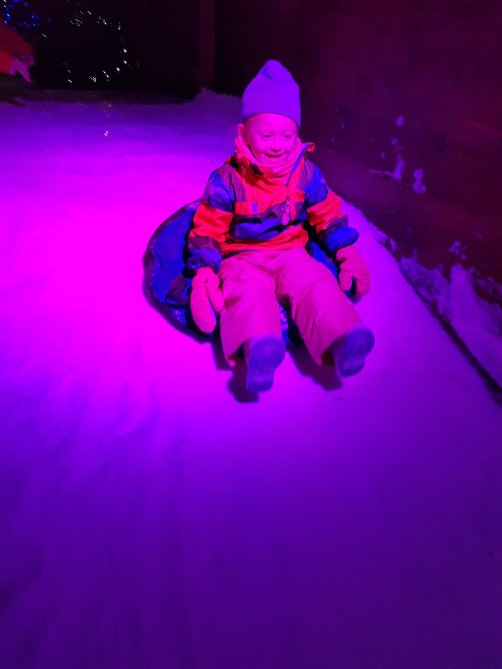 Great fun for all the family - all sizes of slopes too!
