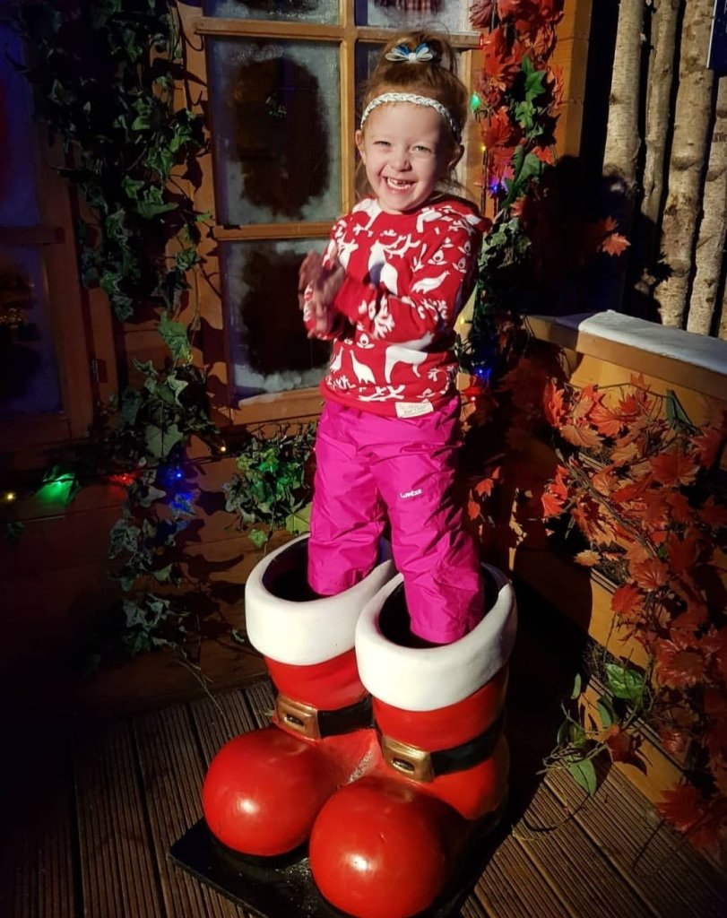 Step into a magical world this Christmas (photo taken at Tamworth Snowdome)