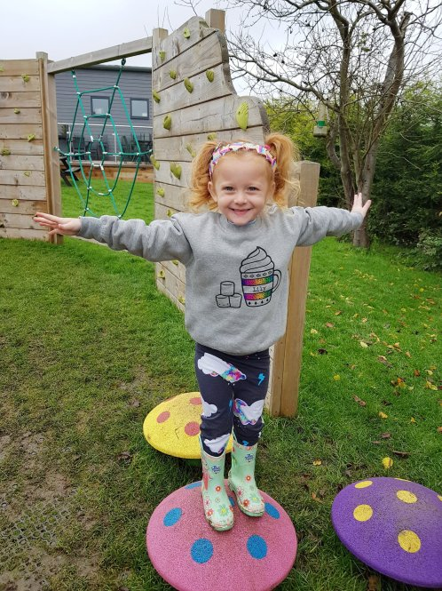 The outdoor play area is great fun with something for all ages! Just remember your wellies :)