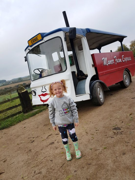 Ernie the milk float rides are included as part of your ticket and take you down to the woodlands