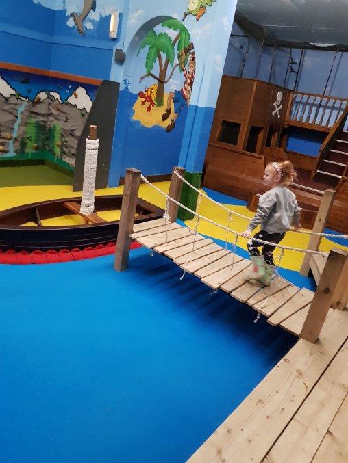 The indoor play barn is fantastic!