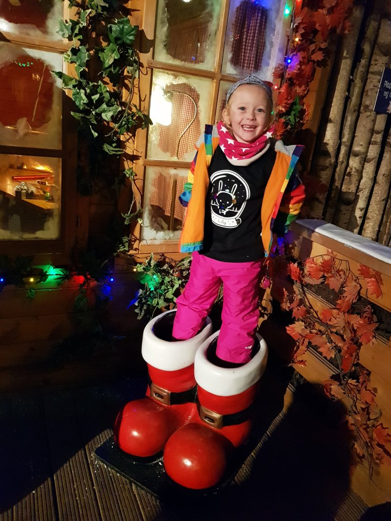 Step into Santa's boots in Santa's Christmas Village