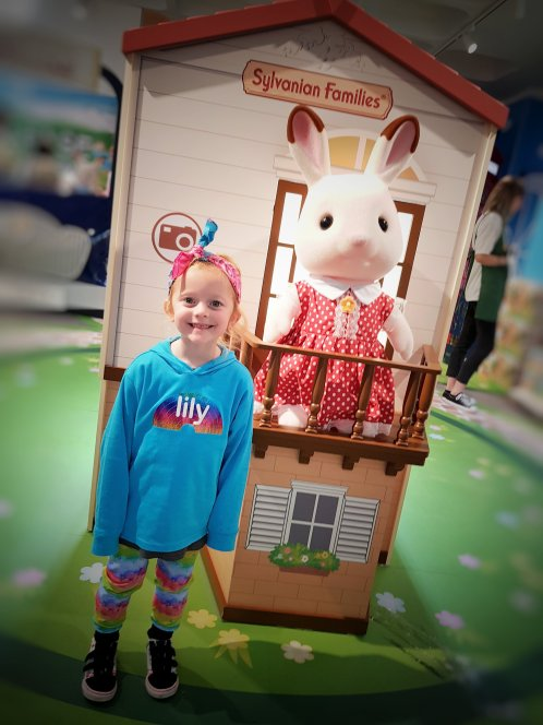 Our first visit to the Sylvanian Families shop in October
