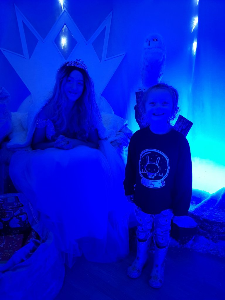 Visiting the Snow Queen in her ice cave