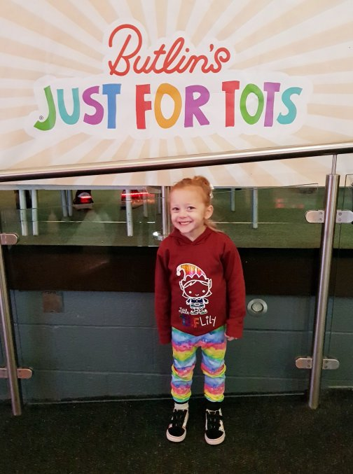 Welcome to the Butlin's Just For Tots week at Skegness