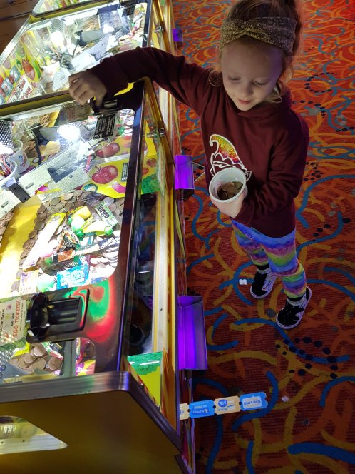 This one loves the 2p machines!