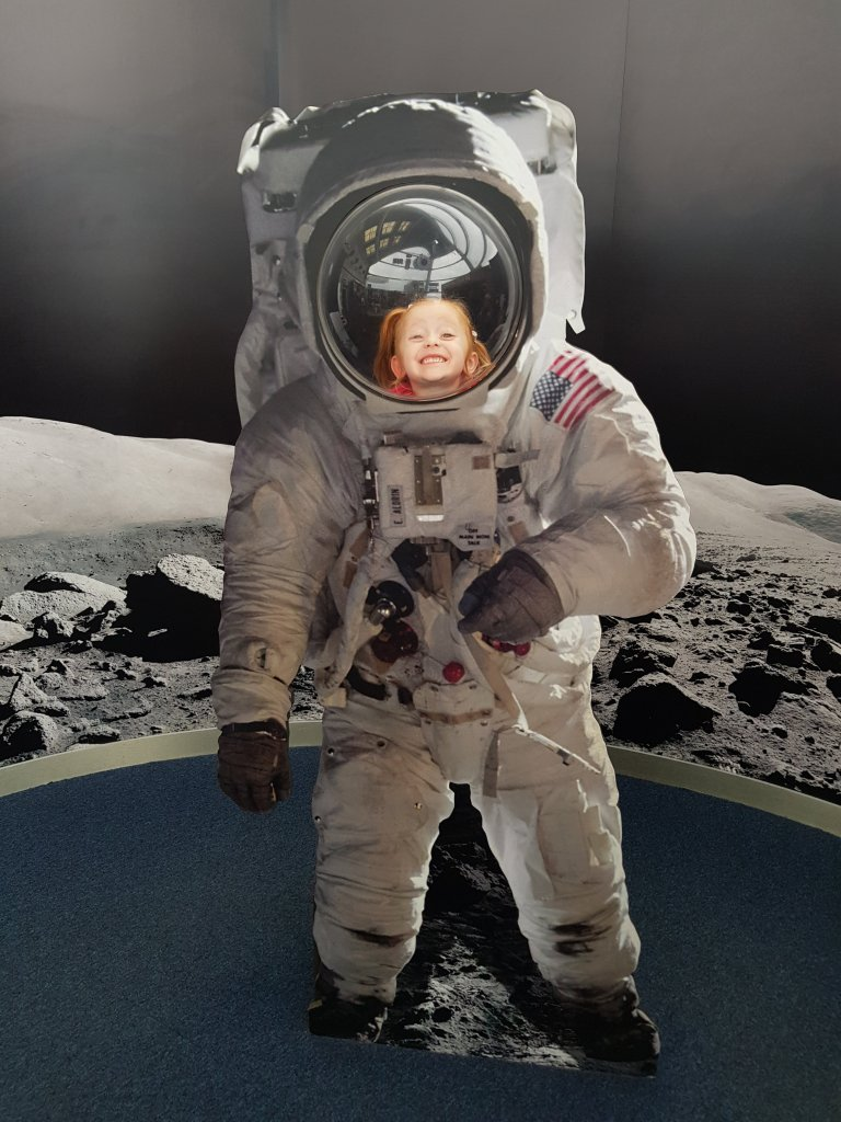 Lily loves the National Space Centre, and the CBeebies series brought back that excitement!