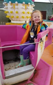 Funfair rides are included in the tickets