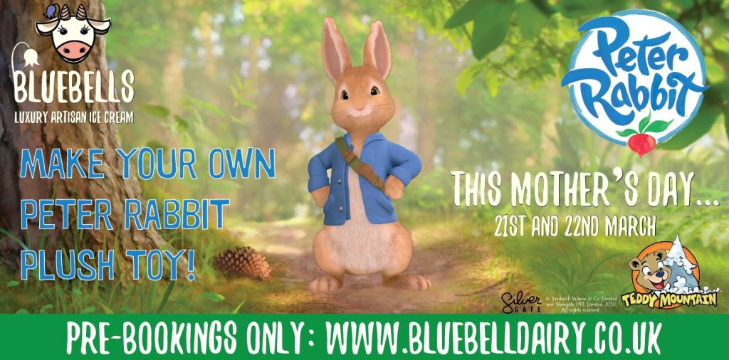 The Peter Rabbit event at Bluebells