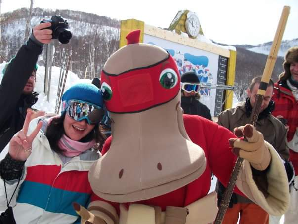 You never know who you will meet in the mountains (especially in Japan!)