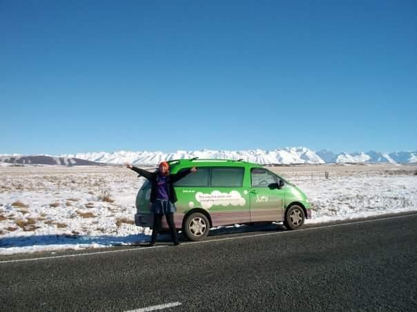 The mountains make you feel so free (photo, New Zealand roadtrip)