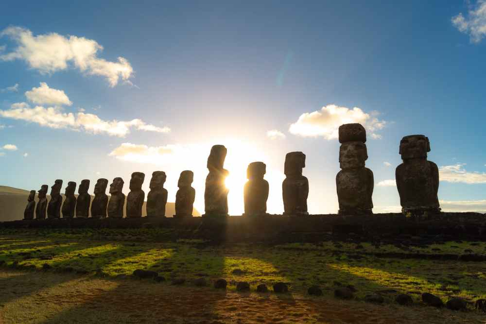 Easter Island. Photo by Andrea Vera Sasso