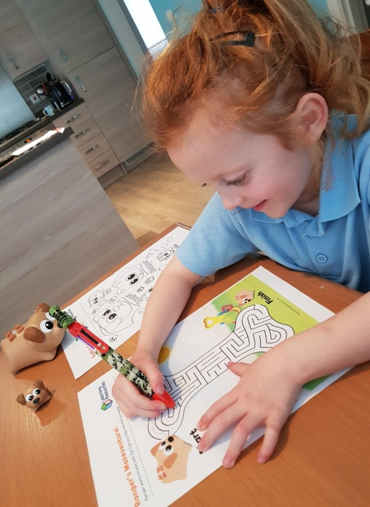 Lily loves the Coding Critters activities especially from Learning Resources UK