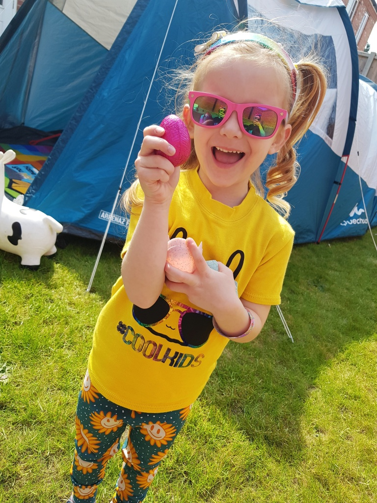Easter egg hunts with the Learning Resources UK Discovery Eggs