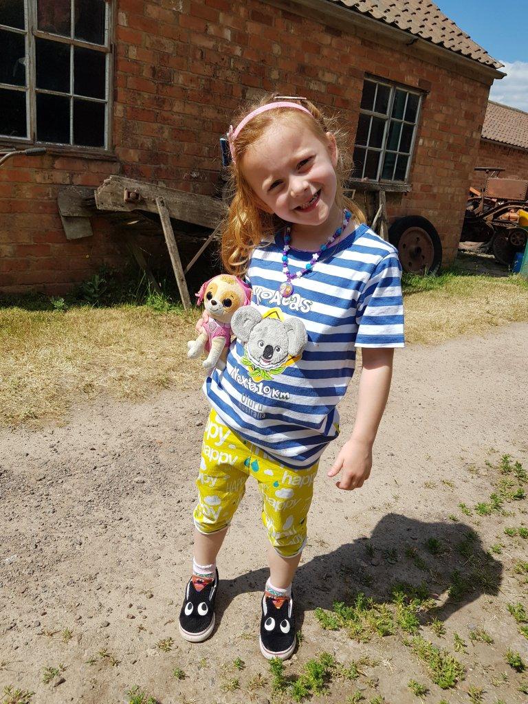 Enjoying a wander around Stonehurst Farm - June 2020 (when we visited the farm shop!)