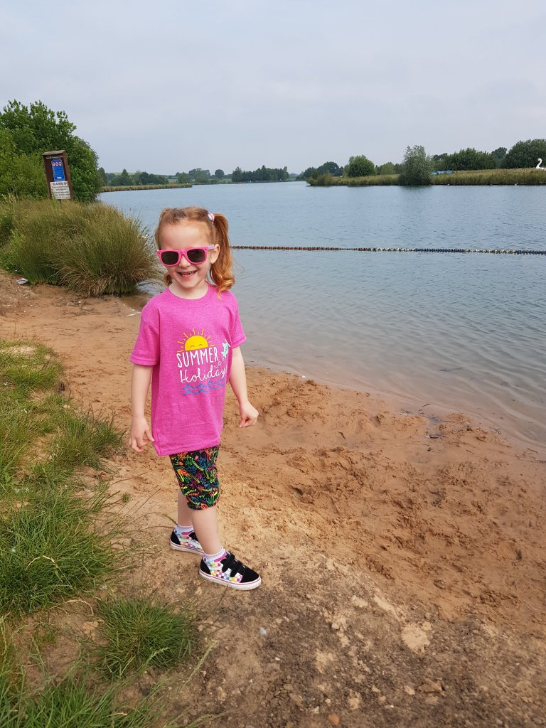 Bosworth Water Park - we will definitely return when the watersports open too!