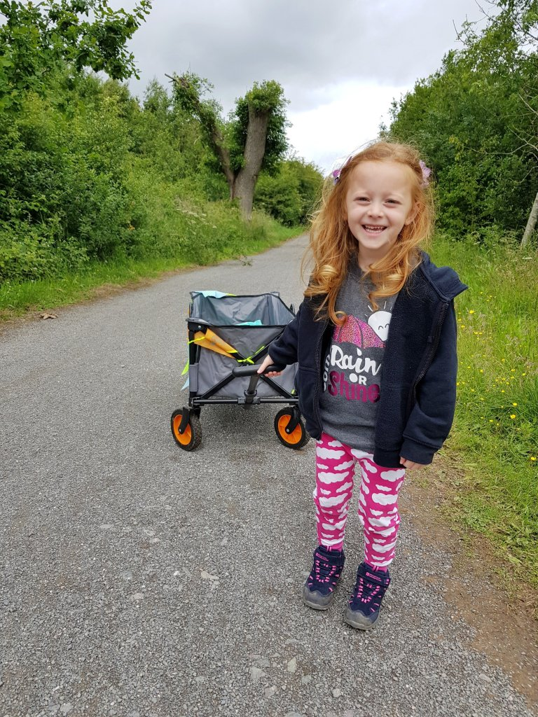 Family-friendly walking and cycle trails