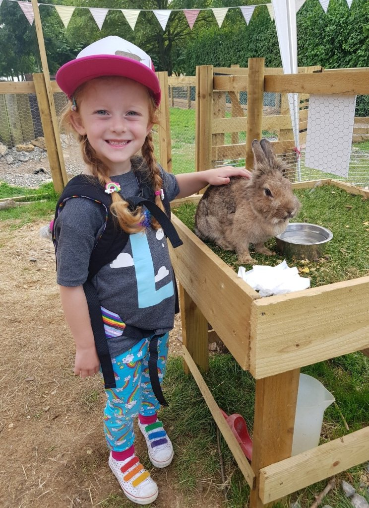 Lily bobtail and Peter Rabbit!
