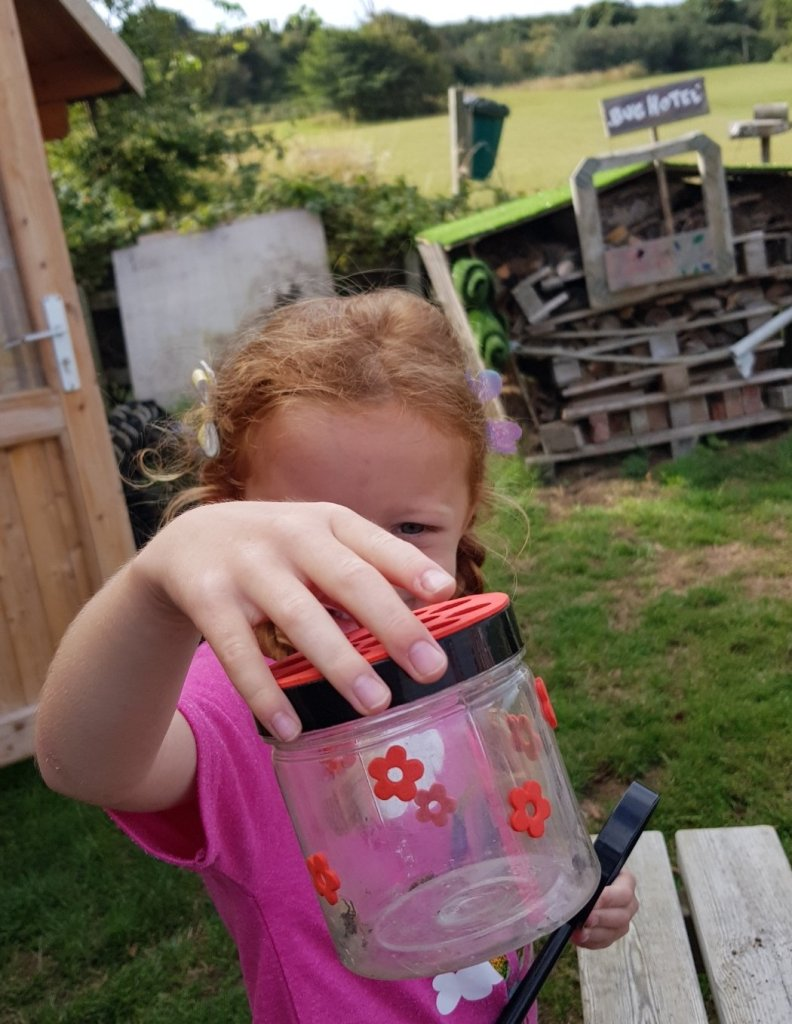 Bug hunting was a fantastic activity - and free too