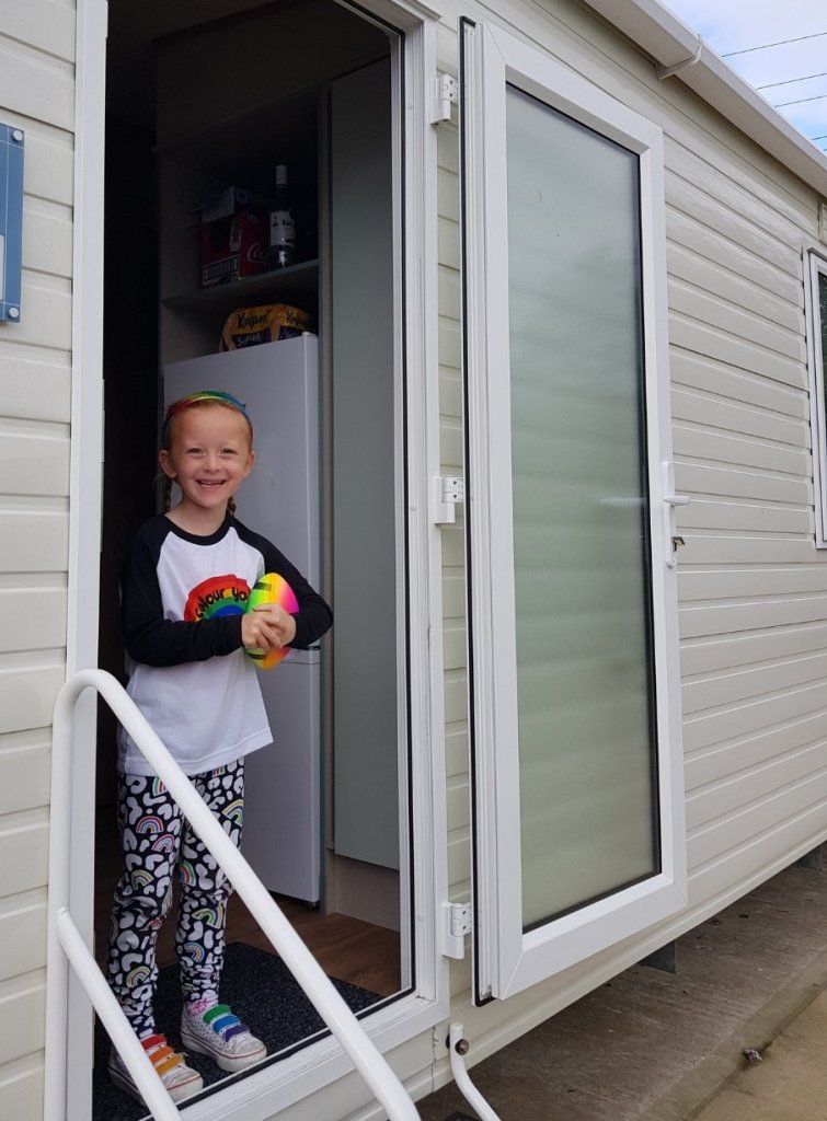 Our caravan was all perfectly clean when we arrived and sealed for arrival