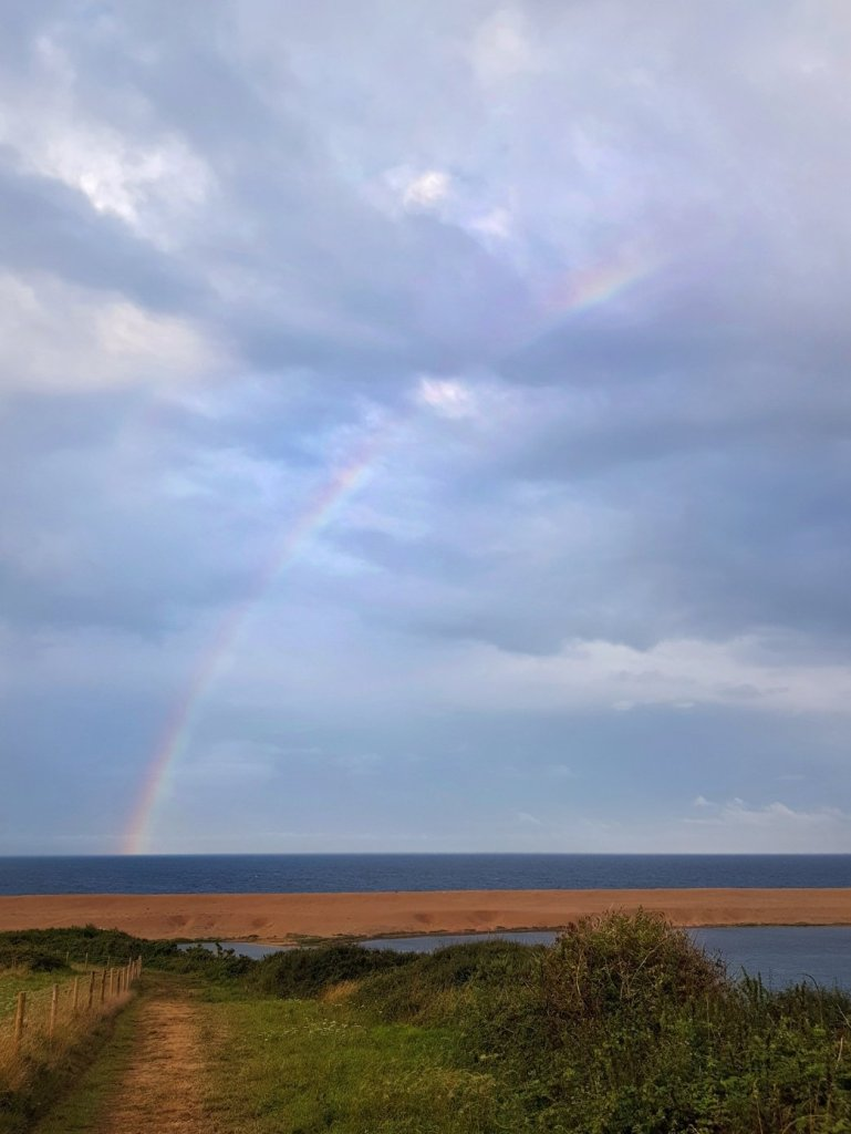 Somewhere over the rainbow at Haven Littlesea Weymouth