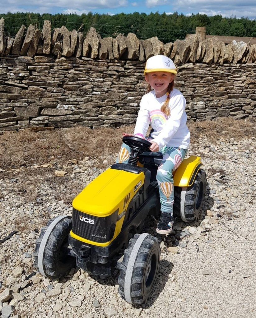 One of the many fun activities at Cotswold Farm Park