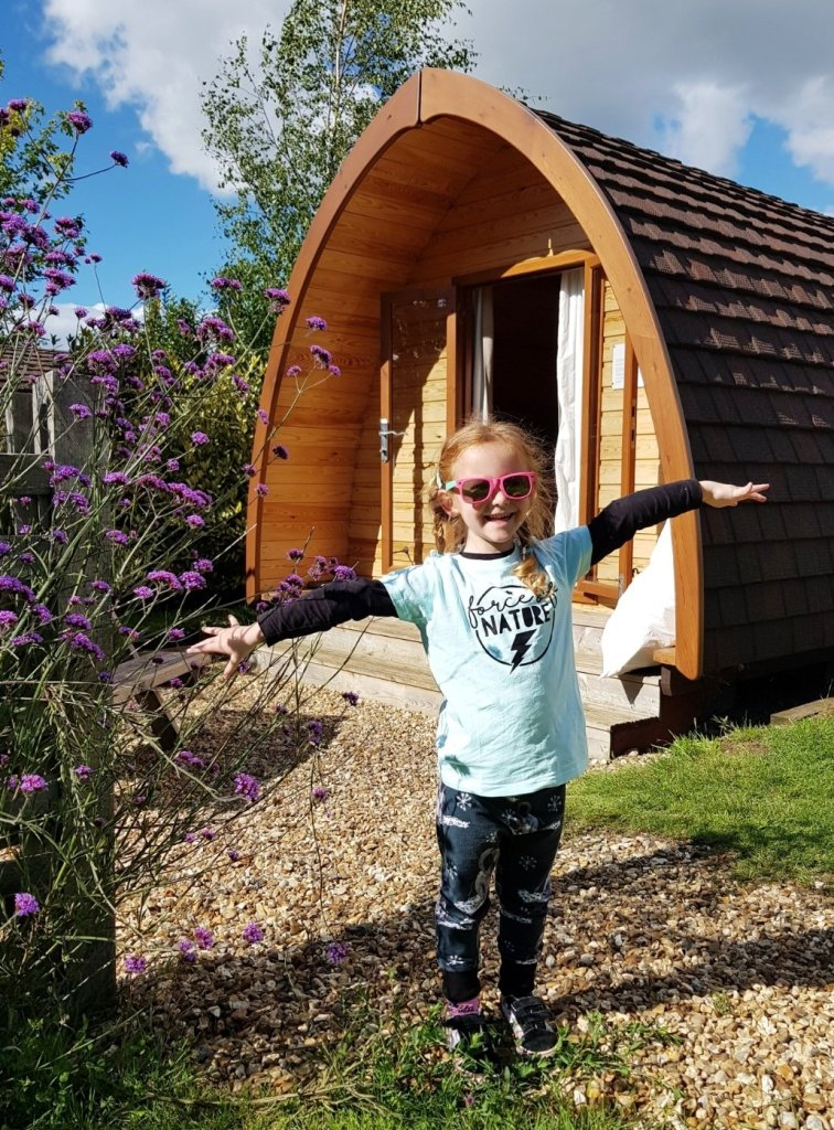 Welcome to Poppy, our little pod on our 2md stay at Notgrove