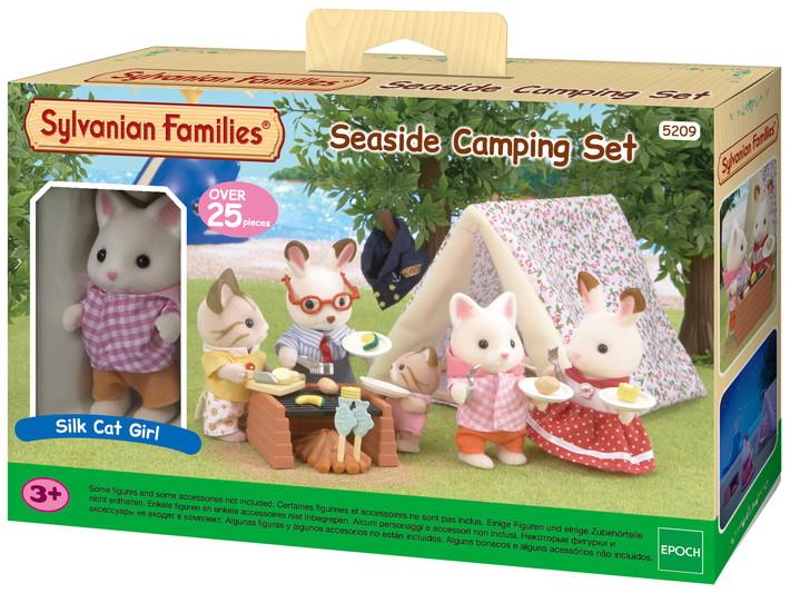 The Sylvanian Families Seaside Camping Set