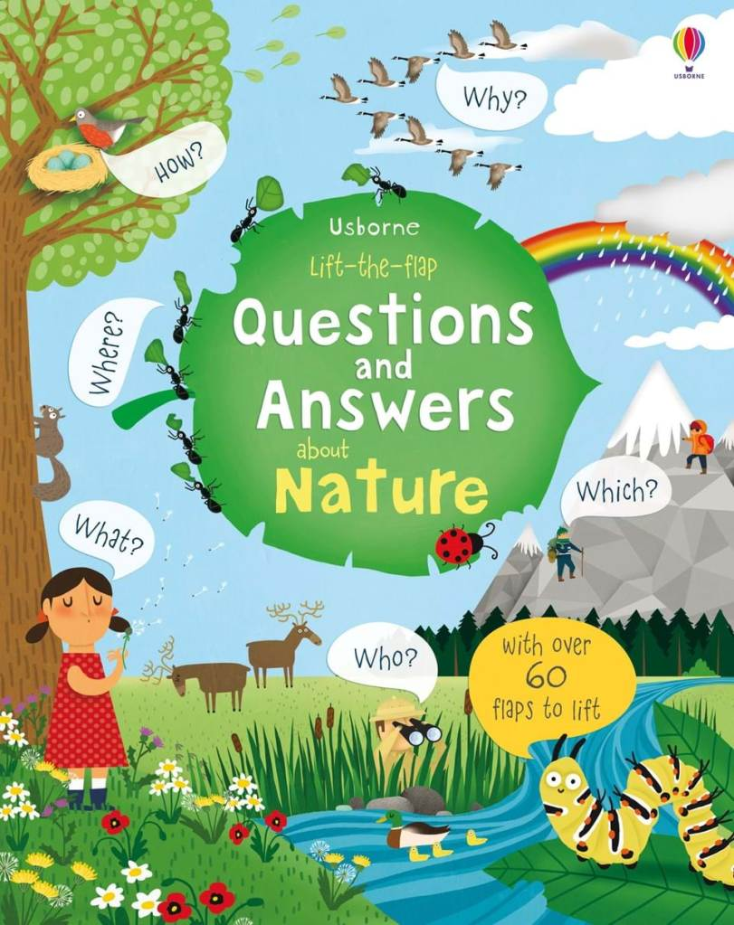 This Usborne book is great for learning and exploring