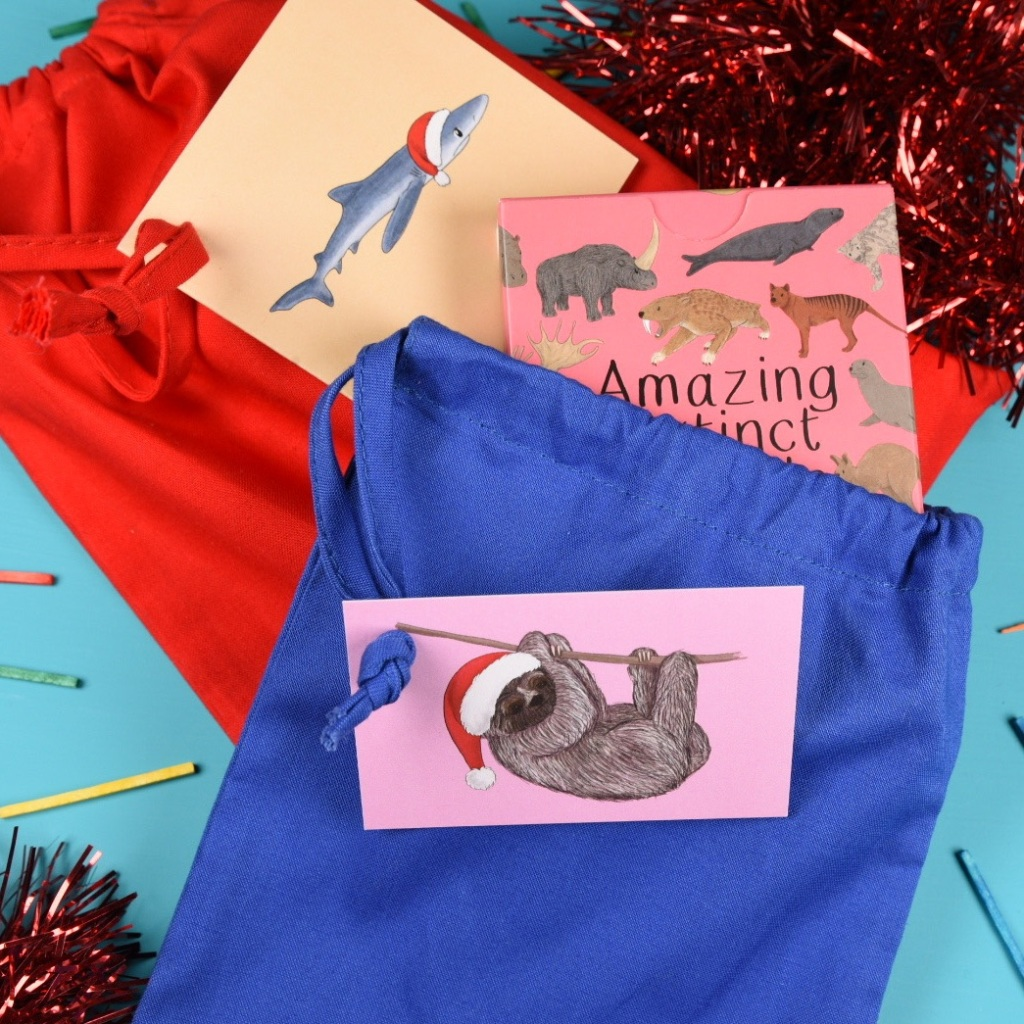 Christmas Gift Wrap ideas from Button & Squirt (image from Button & Squirt website)