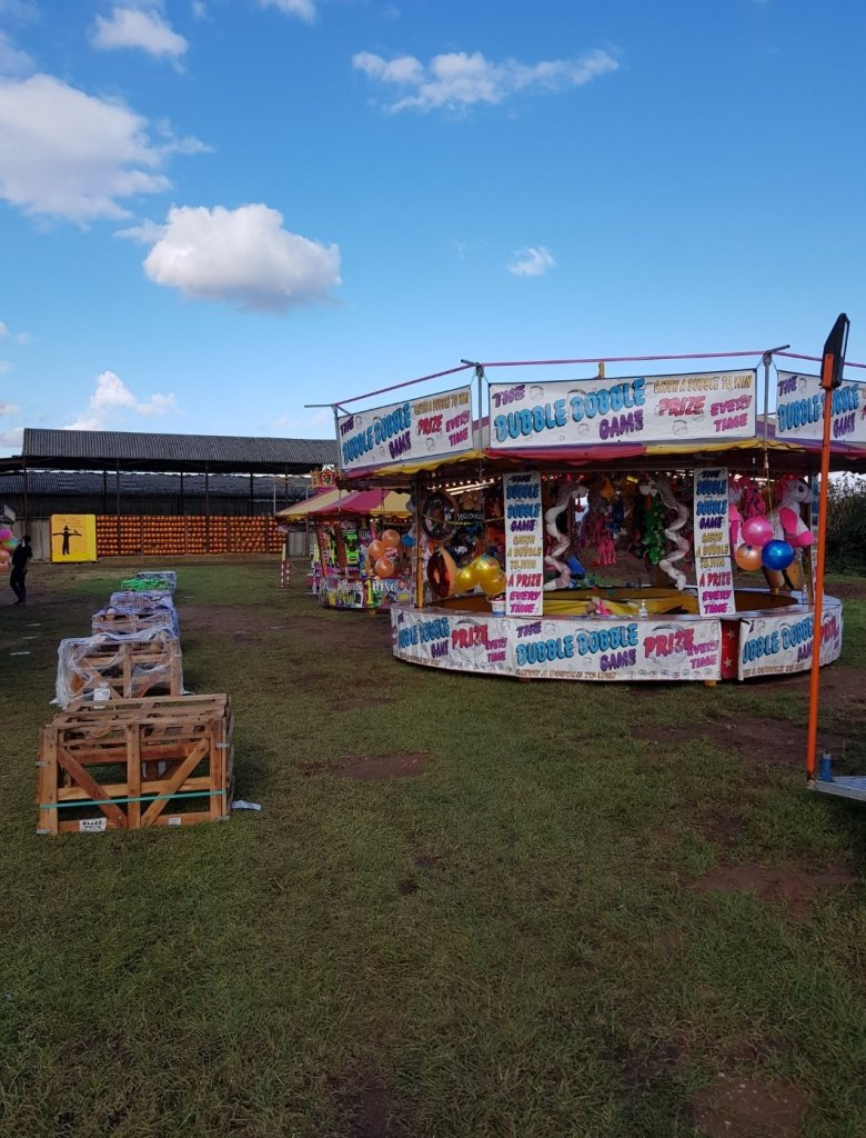 Enjoy the funfair games and rides at Cattows Farm as part of your visit