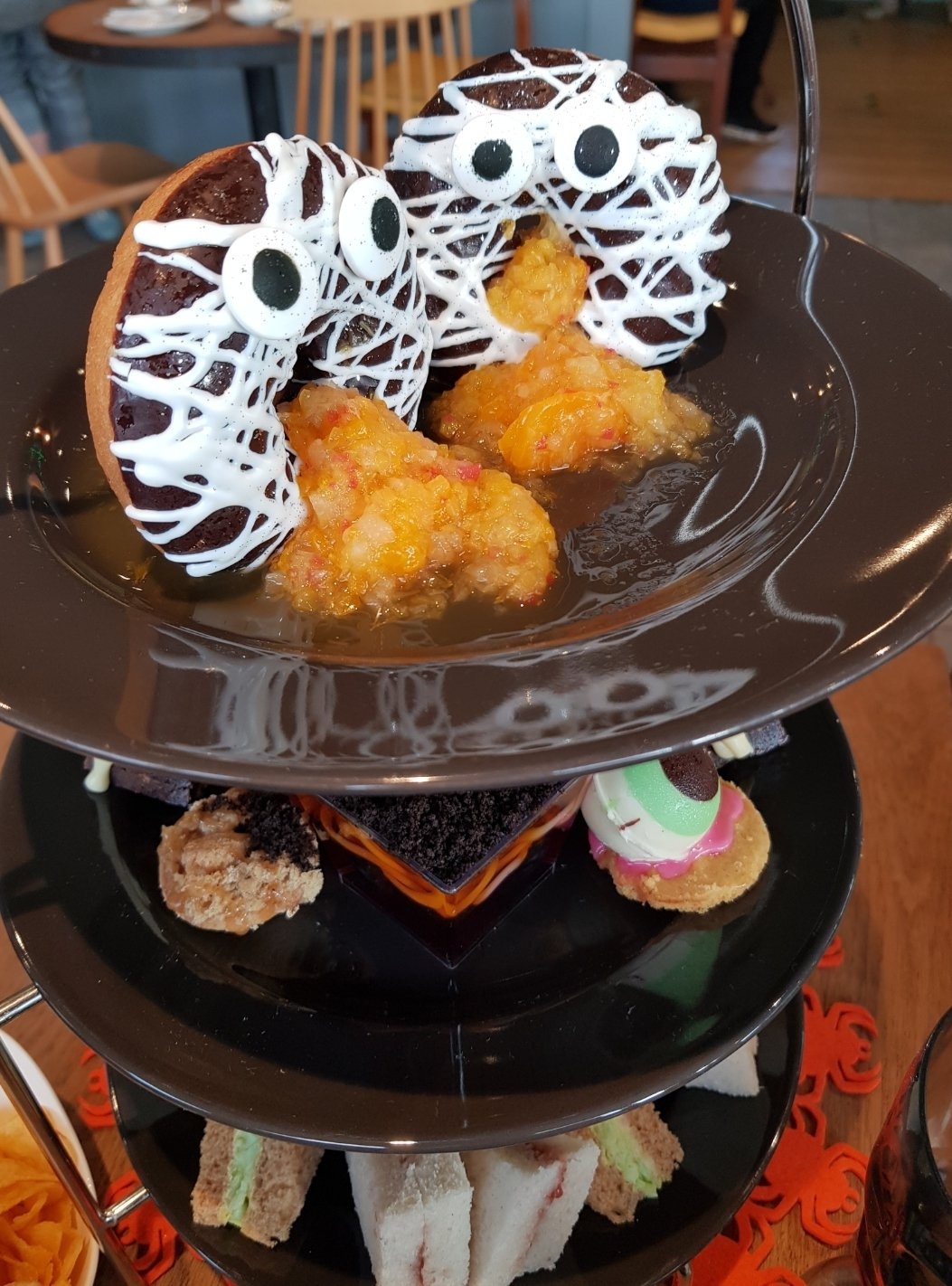 Halloween afternoon tea at Cattows Farm