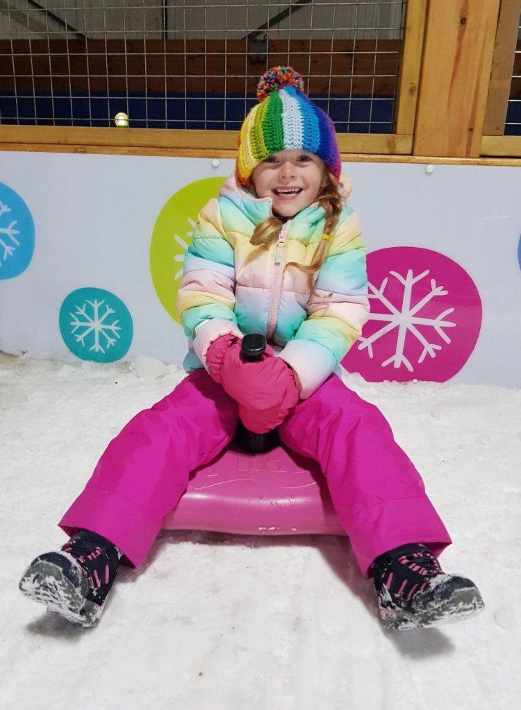 Snow much fun! Enjoying the snow fun park at SnowDome Tamworth