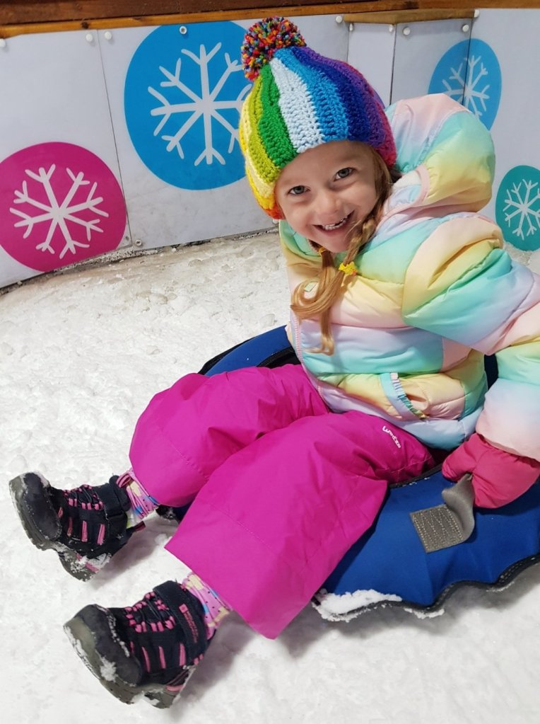 Just remember to dress up warmly for the snow at Tamworth SnowDome :)