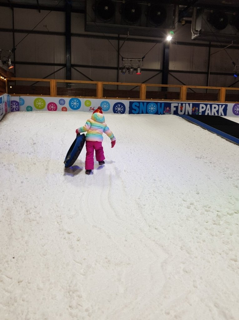 The Snow Fun Park sledging slope