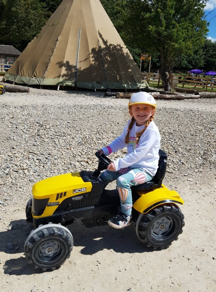 More tractor fun at Cotswold Farm Park